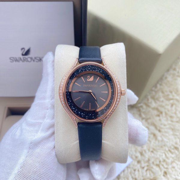 Đồng hồ Swarovski nữ mặt đá xoay