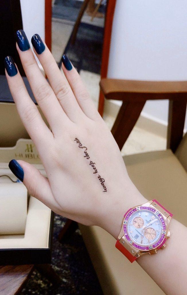 Đồng hồ Hublot nữ hồng