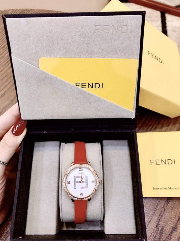 Đồng hồ nữĐồng hồ Fendi nữ đính đá