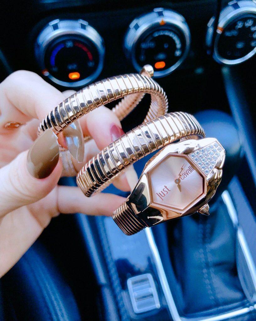Đồng hồ Bvlgari nữ rắn quấn