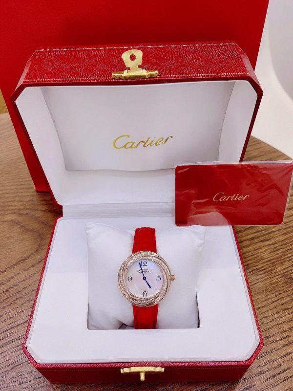 Đồng hồ Cartier dây da