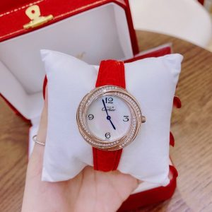 Đồng hồ Cartier mặt tròn