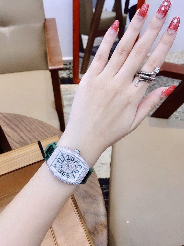 Đồng hồ Franck Muller nữ dây cao su