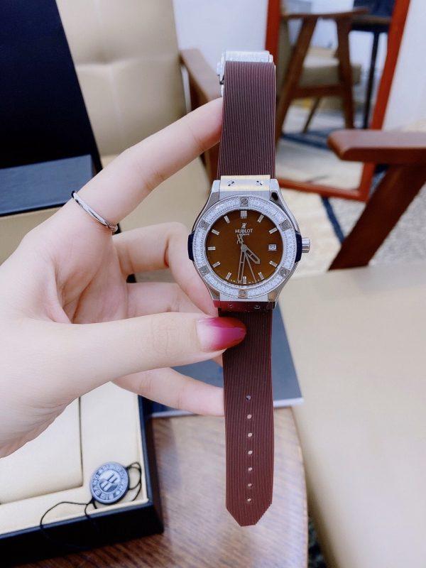 Đồng hồ Hublot nữ dây cao su