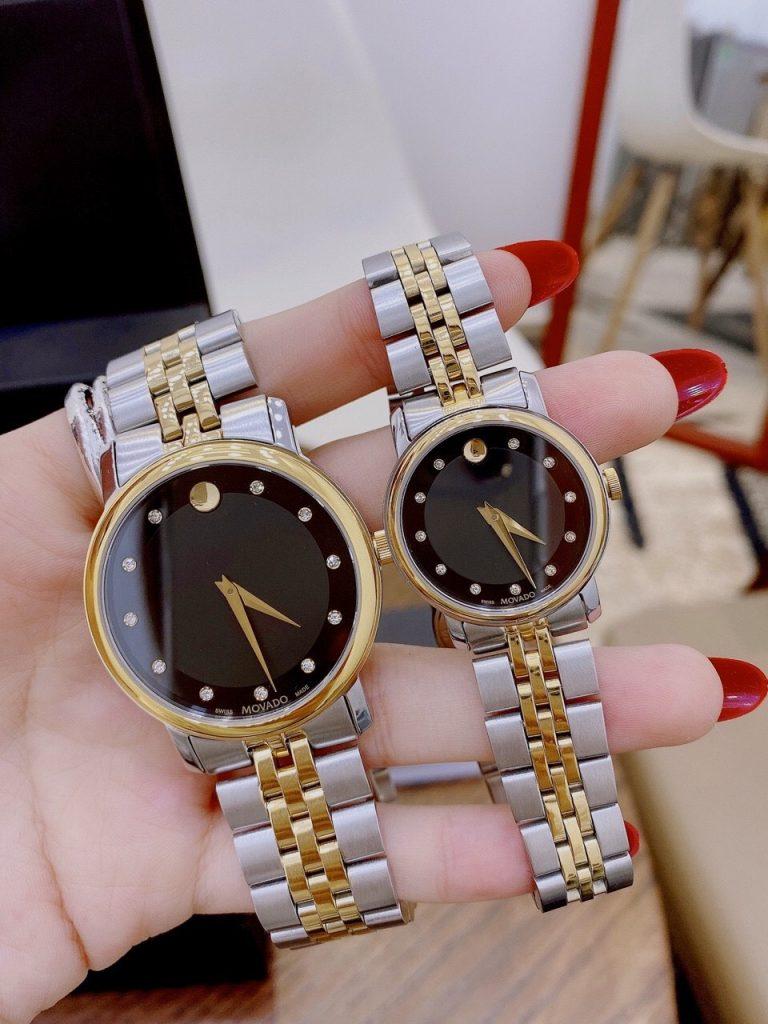 Đồng hồ Movado cặp đẹp
