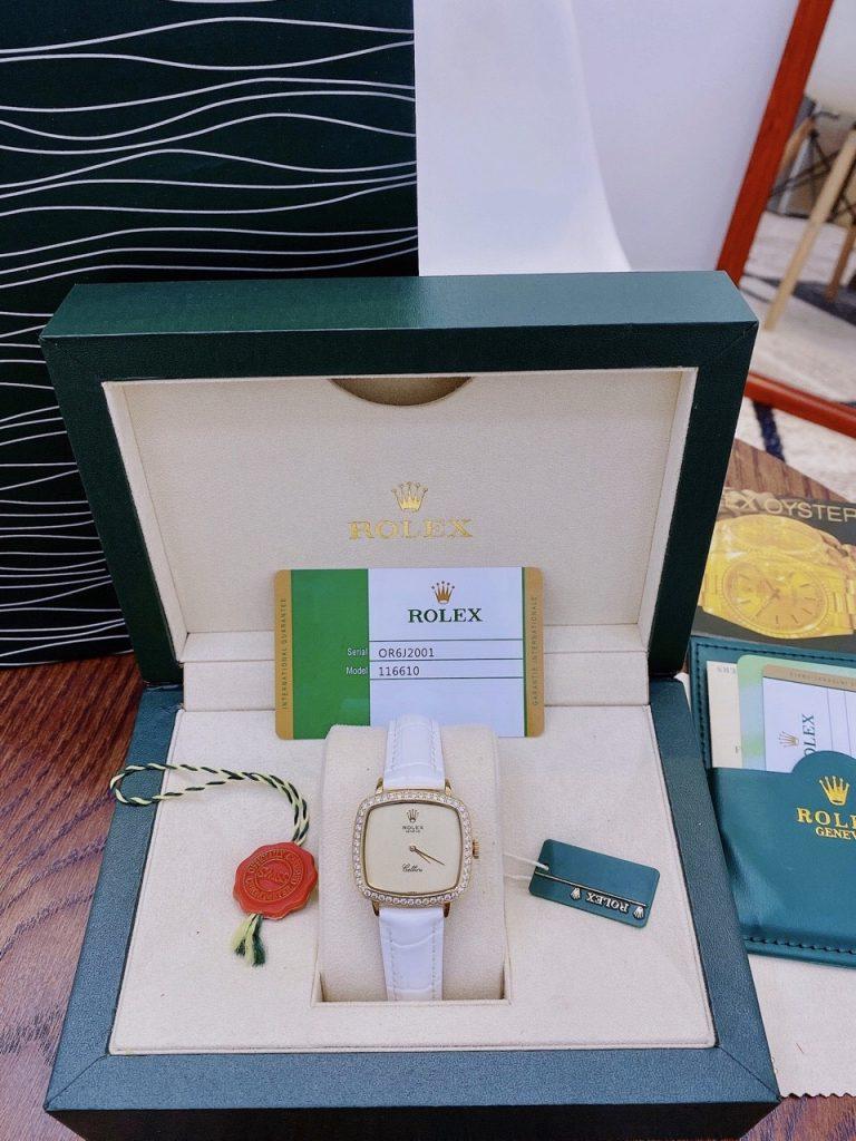 Đồng hồ Rolex nữ dây da