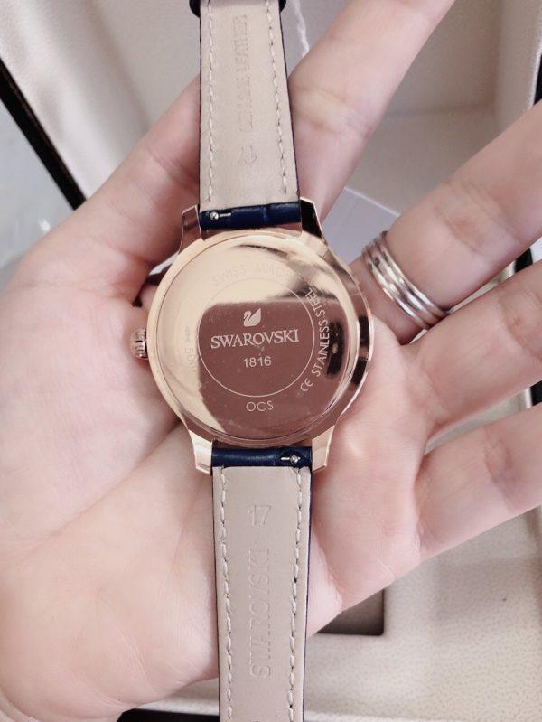 Đồng hồ Swarovski dây da