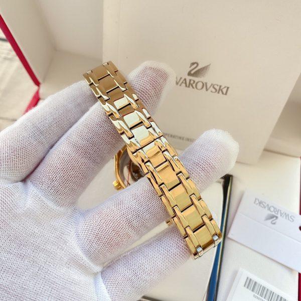 Đồng hồ Swarovski nữ mạ vàng