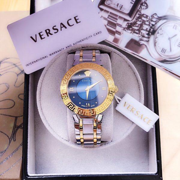 Đồng hồ Versace nữ màu xanh