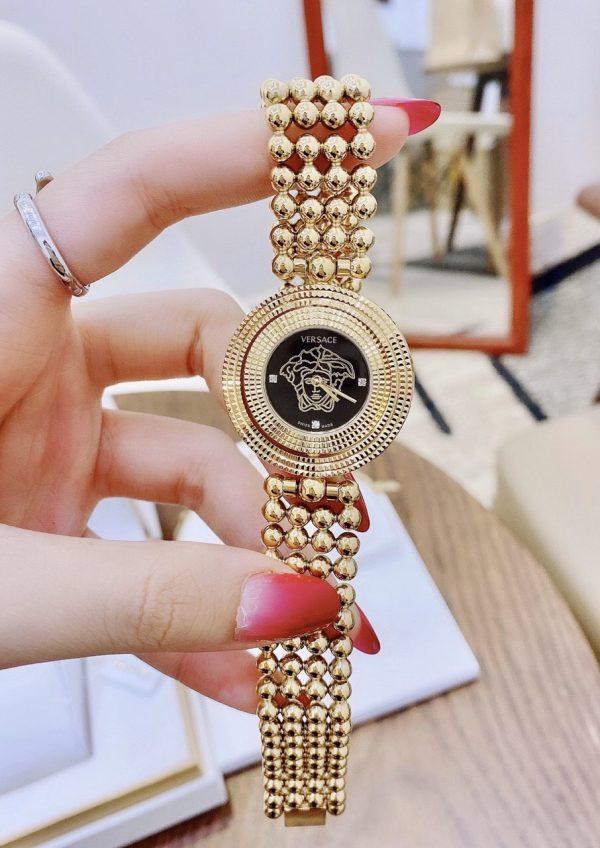 Đồng hồ Versace nữ mặt xoay 2