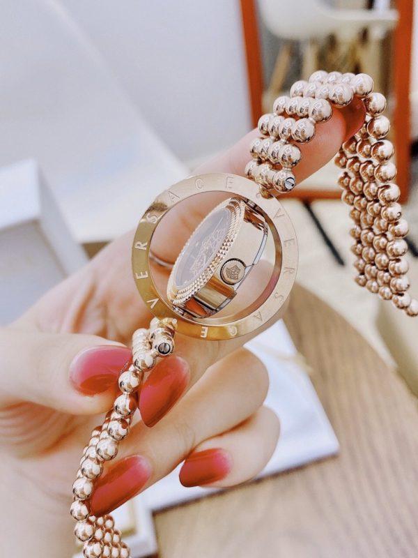 Đồng hồ versace nữ mặt xoay 1