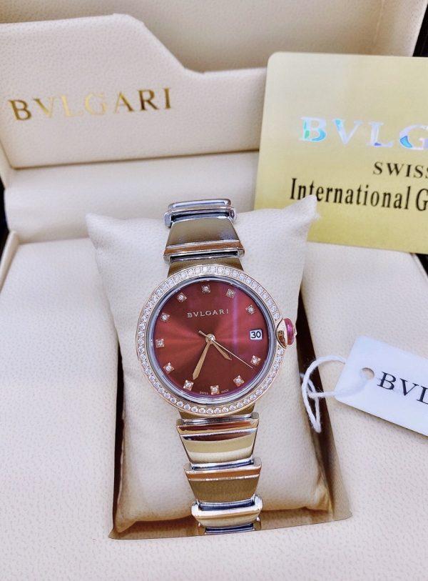 Đồng hồ Bvlgari nữ dây kim loại