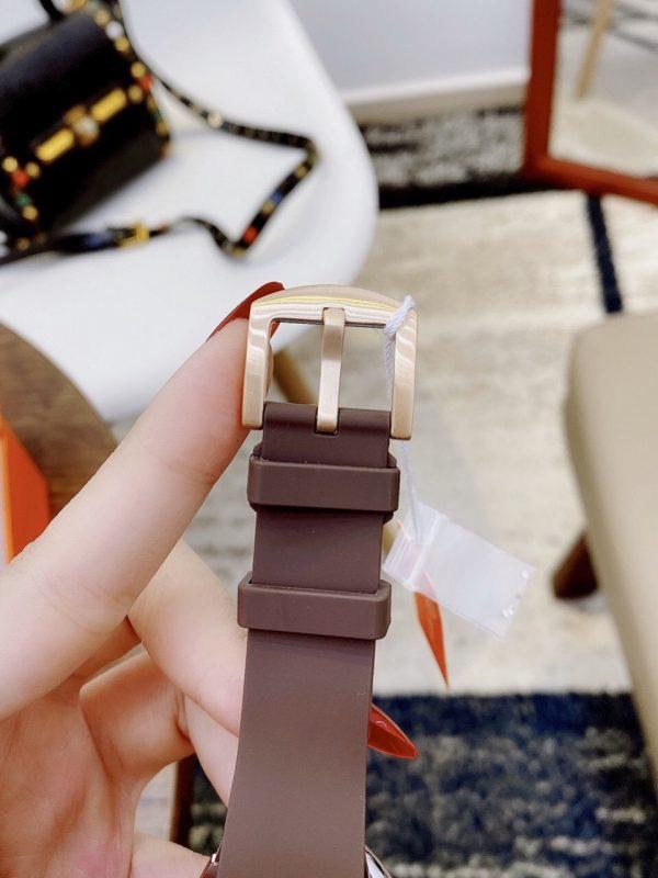 Đồng hồ Davena nữ dây cao su