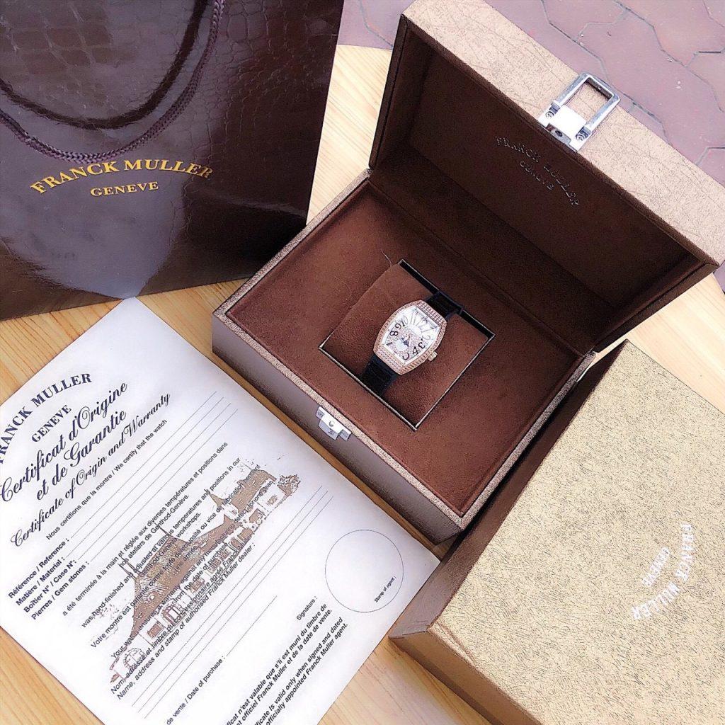 Đồng hồ Franck Muller đính đá