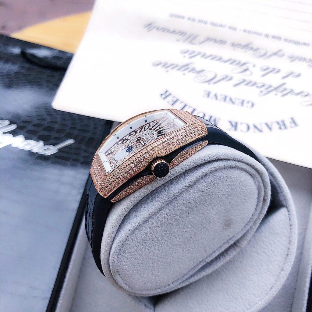Đồng hồ Franck Muller nữ đính đá