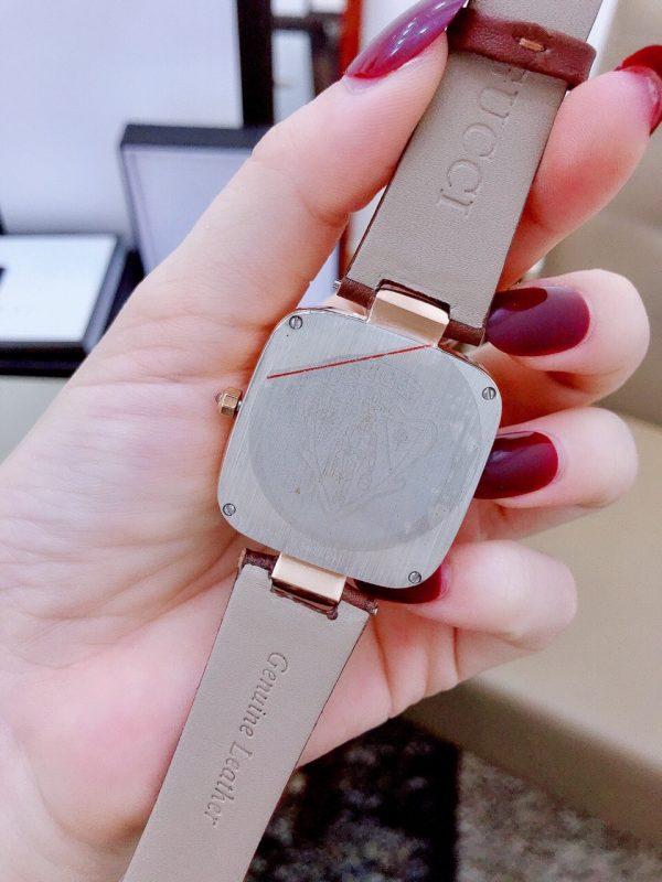 Đồng hồ Gucci nữ dây da