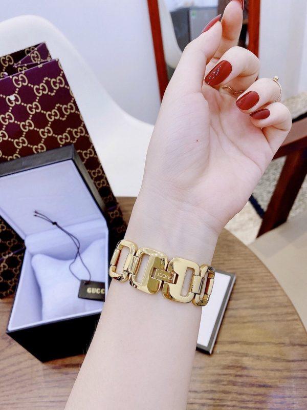 Đồng hồ Gucci nữ mạ vàng