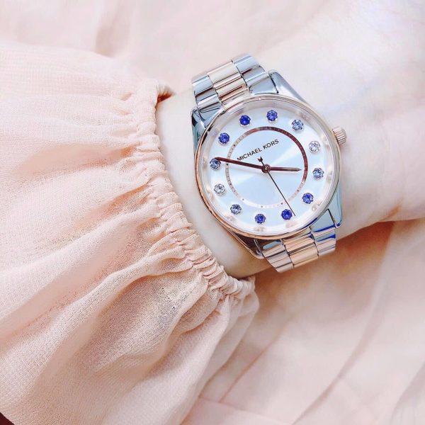 Đồng hồ Michael Kors nữ mặt tròn