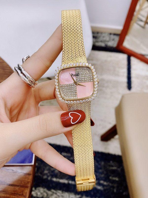 Đồng hồ Piaget nữ mặt vuông