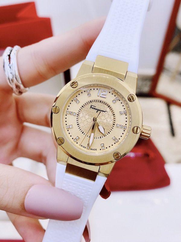 Đồng hồ Salvatore Ferragamo dây cao su