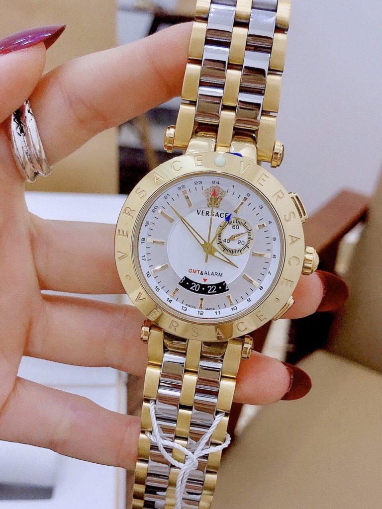 Đồng hồ Versace dây kim loại
