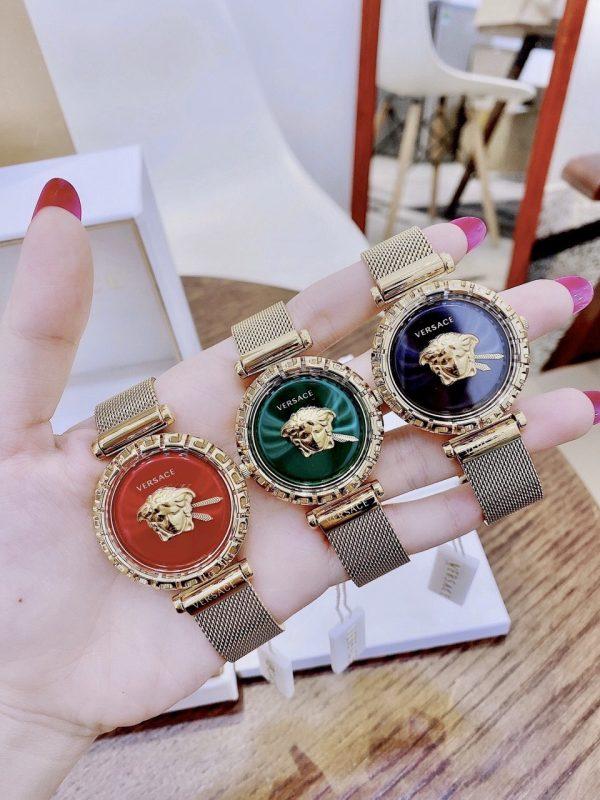 Đồng hồ Versace nữ mặt xanh