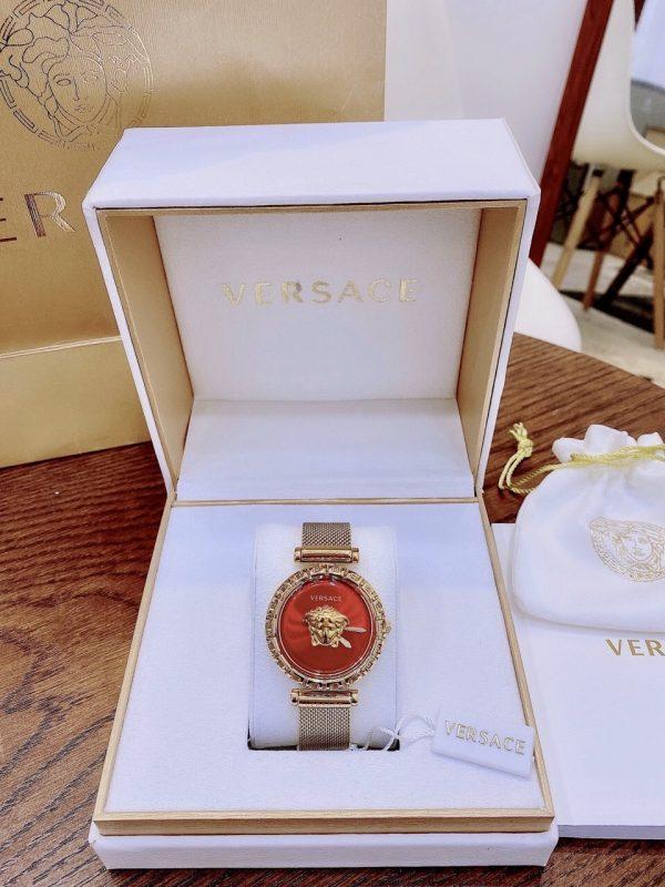Đồng hồ Versace nữ mặt đỏ