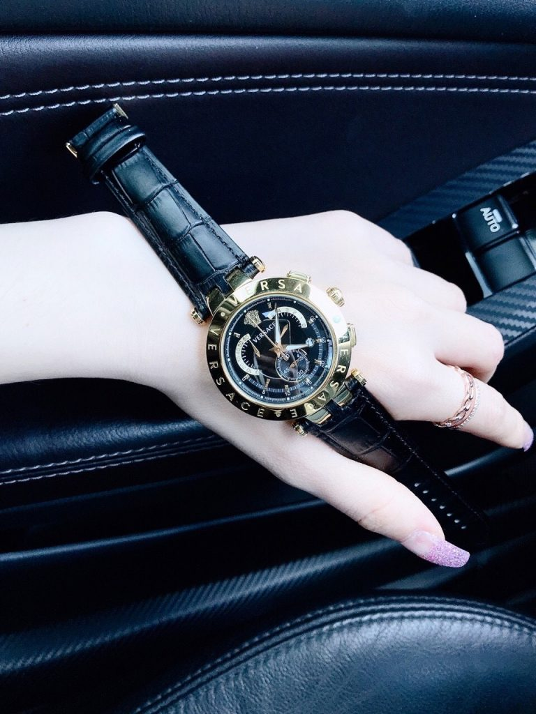 Đồng hồ Versace nam dây da