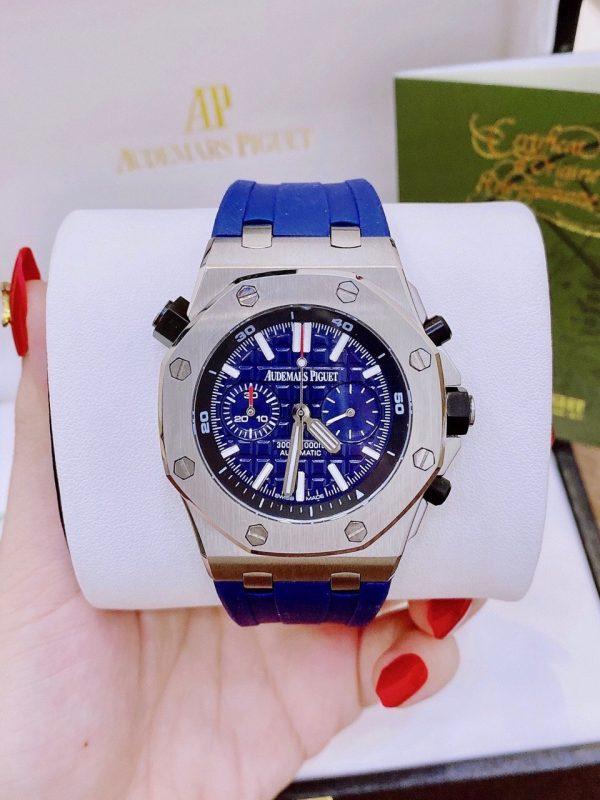 Đồng hồ audemars piguet màu xanh