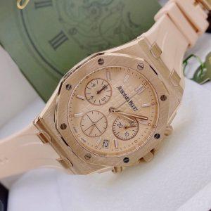 Đồng hồ nữ đẹp Audemars Piguet dây cao su