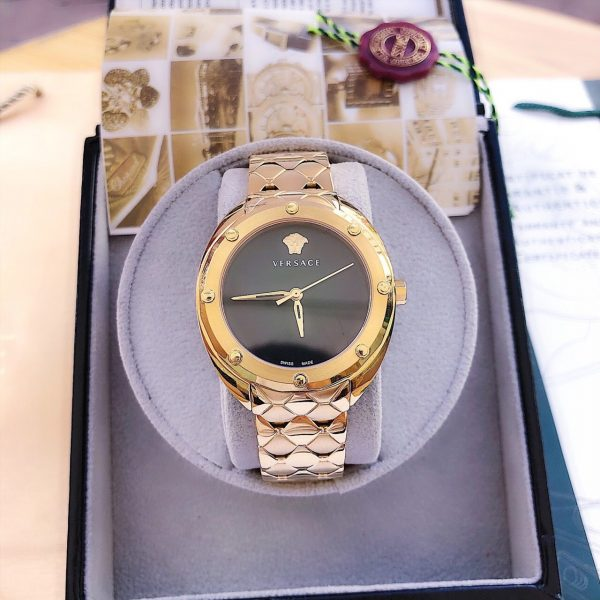 Đồng hồ nữ Versace màu vàng