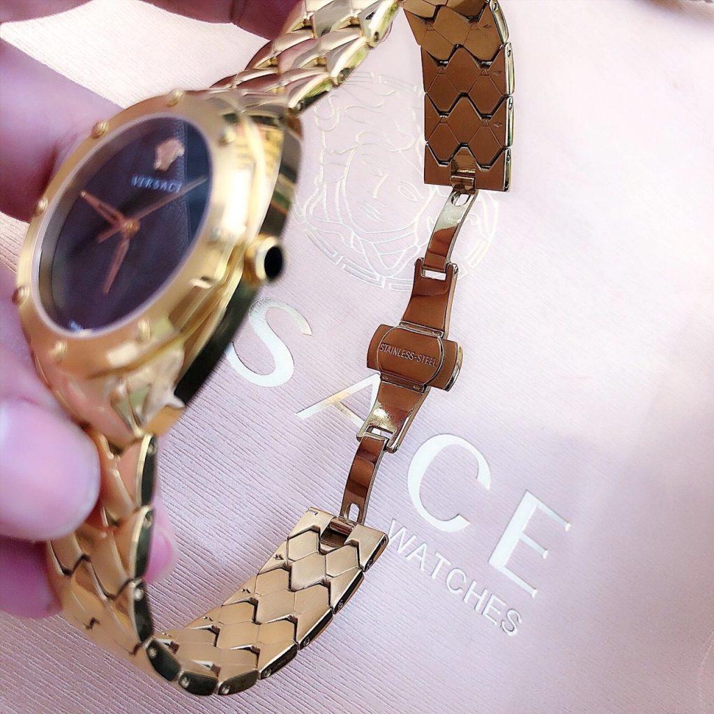 Đồng hồ nữ Versace máy nhật