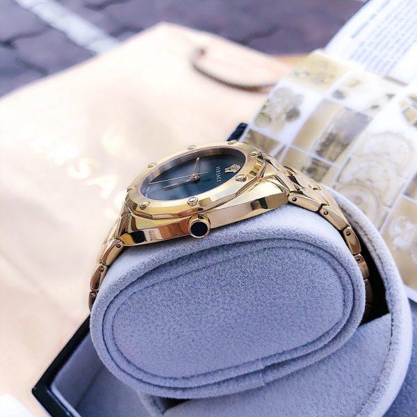 Đồng hồ nữ Versace mặt tròn