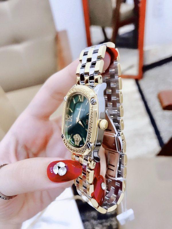 Đồng hồ nữ dây kim loại Versace like auth