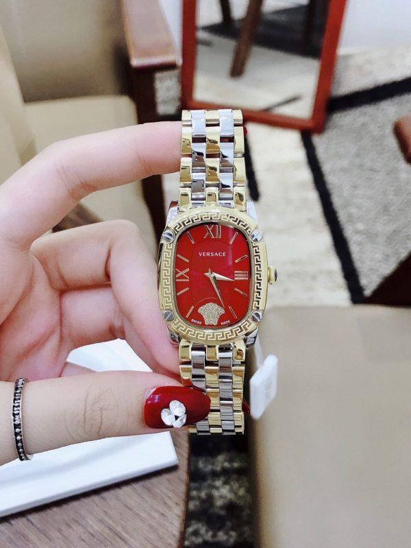 Đồng hồ nữ dây kim loại cao cấp