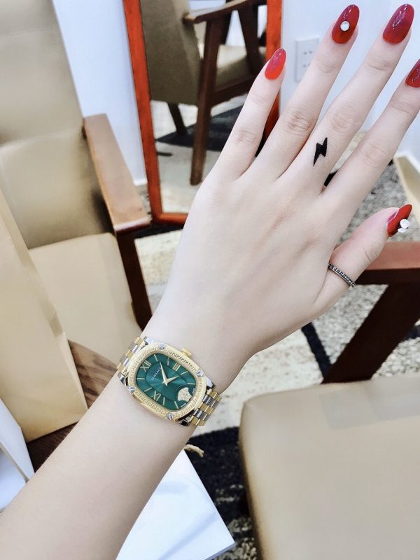 Đồng hồ nữ dây kim loại like auth