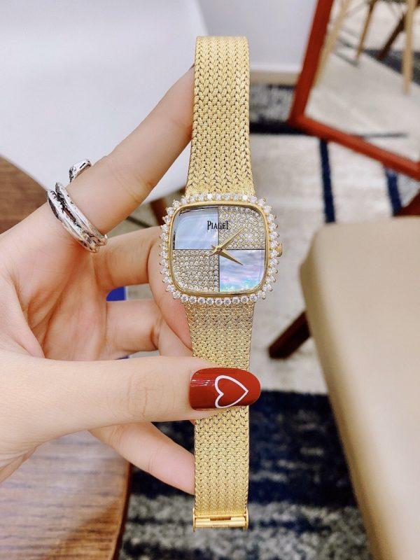 Đồng hồ nữ mặt vuông Piaget