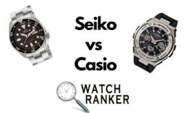 So sánh đồng hồ Seiko và casio