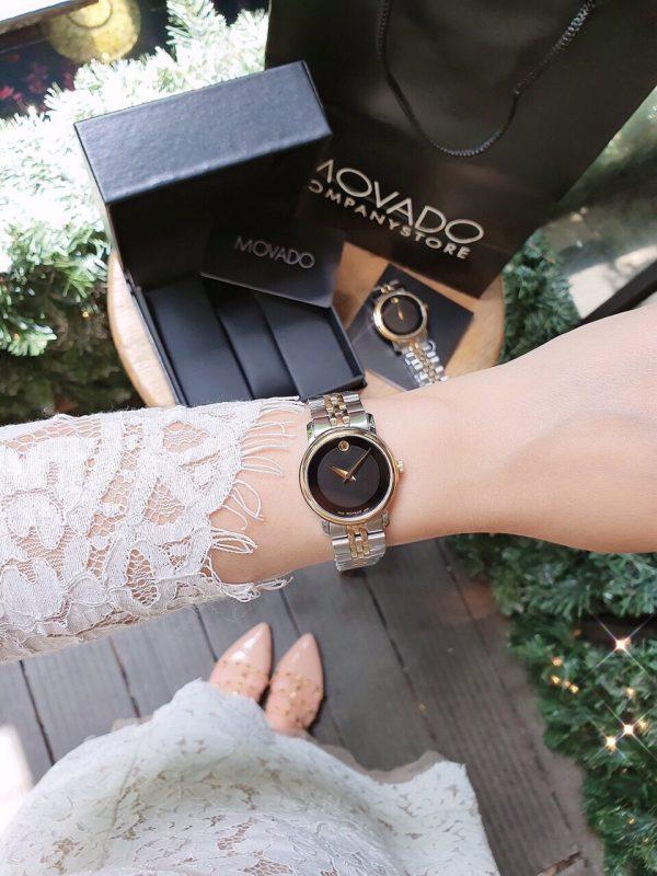 Đồng hồ đôi đẹp Movado