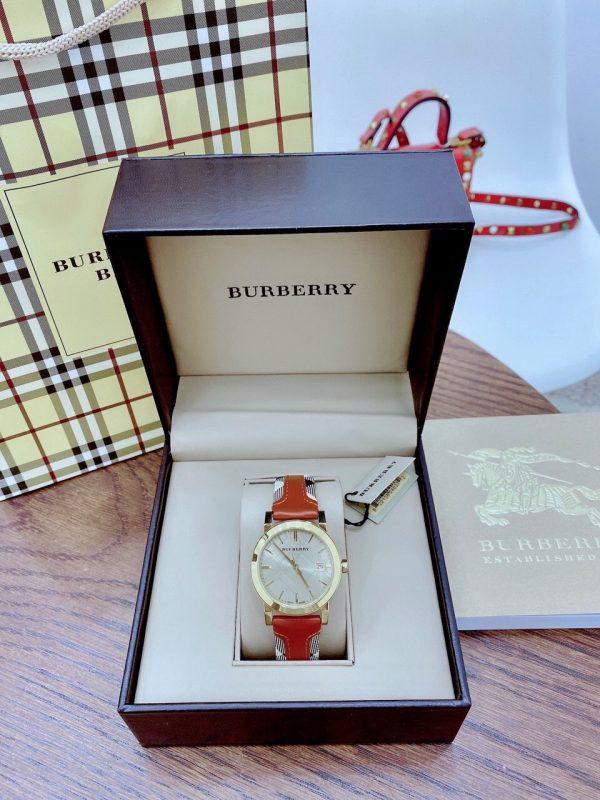 Đồng hồ Burberry dây da nữ
