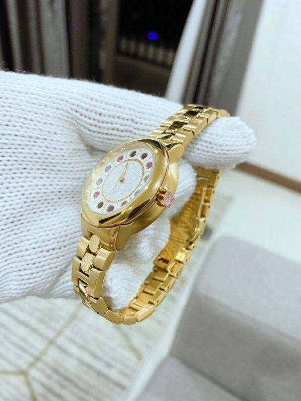 Đồng hồ Fendi nữ dây kim loại