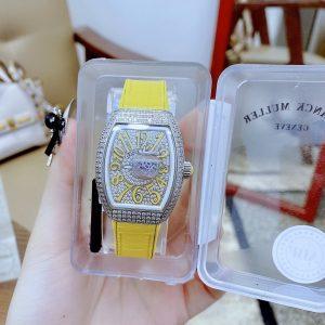 Đồng hồ Franck Muller nữ màu vàng