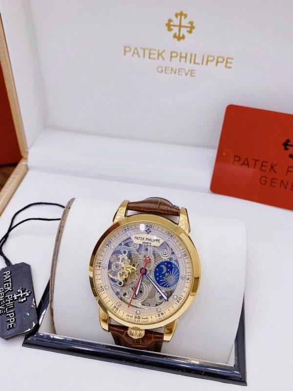 Đồng hồ Patek Philippe nam dây da
