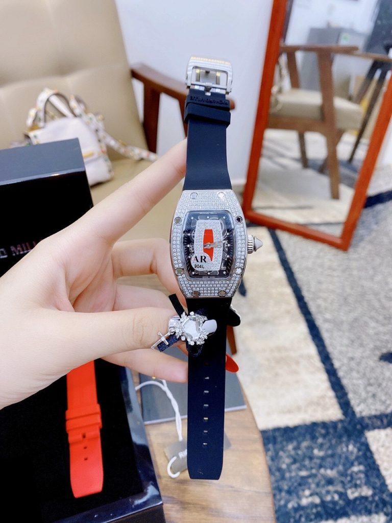 Đồng hồ Richard Mille nữ dây cao su