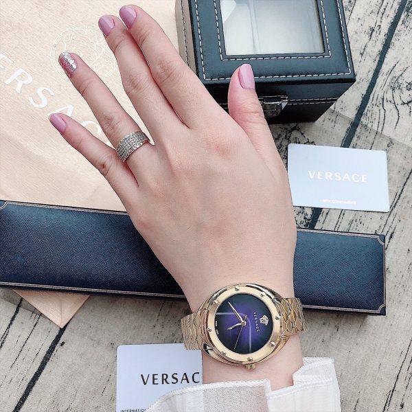Đồng hồ Versace nữ dây kim loại