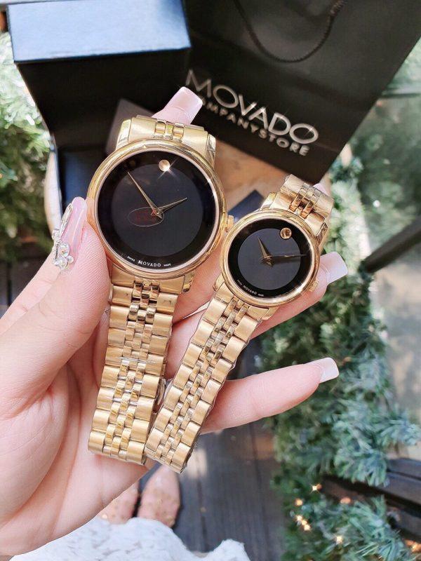 Đồng hồ cặp đẹp Movado giá rẻ