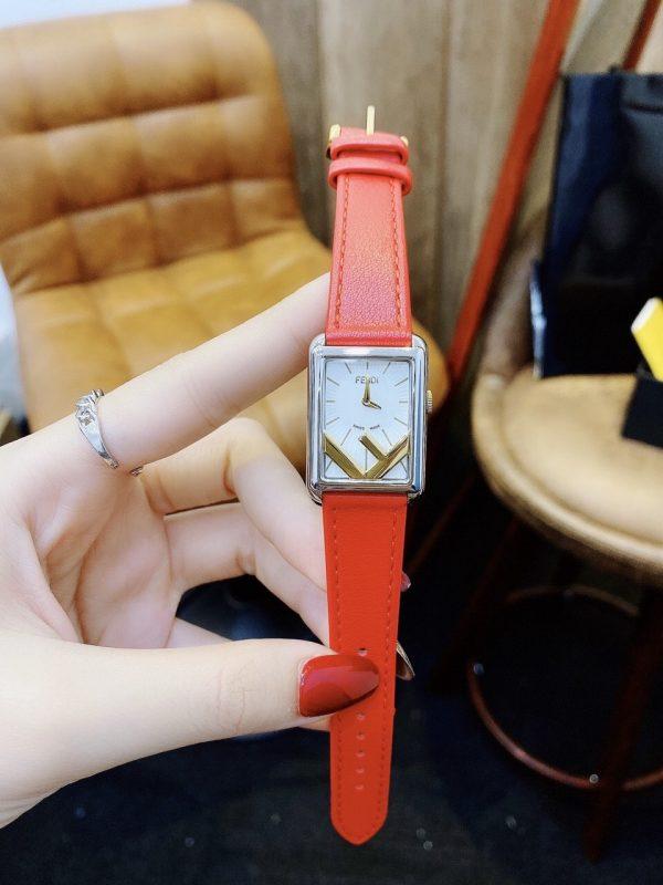 Đồng hồ dây da nữ mặt nhỏ