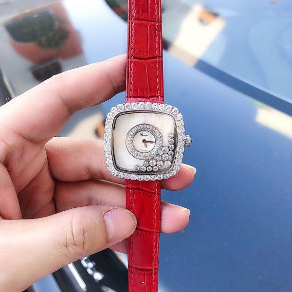 Đồng hồ nữ đẹp dây da