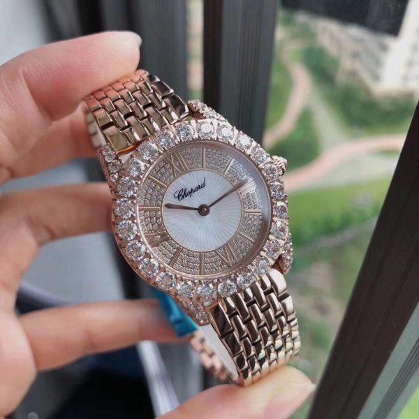 Đồng hồ nữ đẹp màu hồng