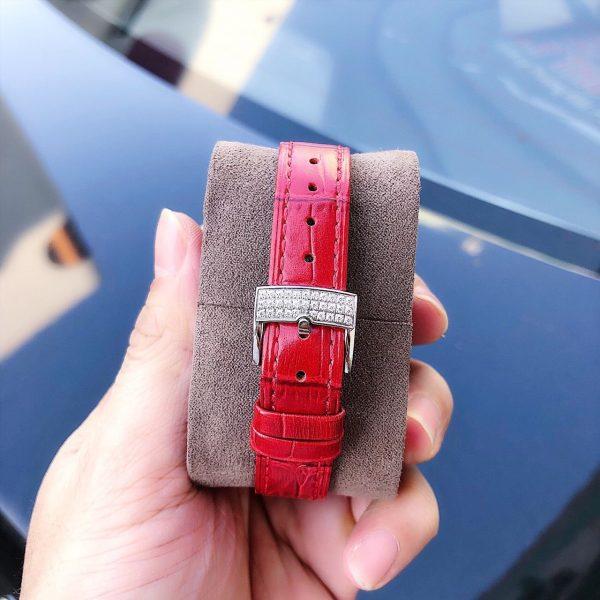 Đồng hồ nữ đẹp mặt vuông đính đá